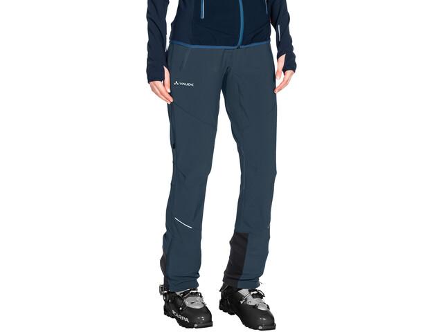 VAUDE Larice III Pantaloni Donna, steelblue